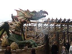 Joris en de Draak - Dragon.JPG