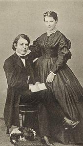Joseph and Amalie Joachim (Source: Wikimedia)