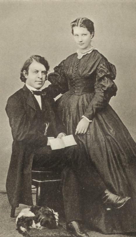 Joseph Joachim e Amalie Weiss