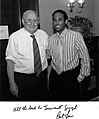 Josh Ward and U.S. Senator Carl Levin.jpg