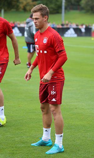 Joshua Kimmich - Kimmich during training with Bayern Munich