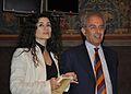 Joumana Haddad and Gad Lerner IJF 2011.jpg