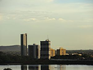 Juazeiro - Juazeiro skyline seen from São Francisco river
