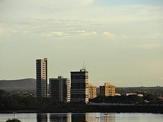 Juazeiro - Juazeiro skyline seen from São Francisco river
