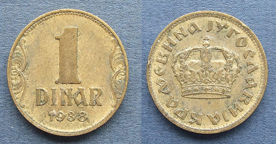 Jugoslawien1Dinar1938