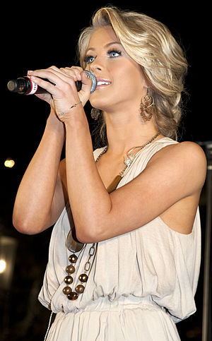 Julianne Hough - Hough performing in March 2009