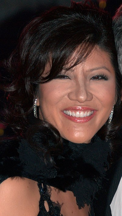 Julie Chen, American journalist and television host