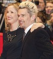 "Julie Delpy and Ethan Hawke, red carpet for the premiere of ""Before Midnight"" (cropped).jpg"