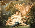 Jupiter in the Guise of Diana and the Nymph Callisto, Francois Boucher, 1759 - Nelson-Atkins Museum of Art - DSC08860.JPG