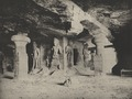 KITLV 88165 - Unknown - Sculptures in the Elephanta Temple in a cave in British India - 1897.tif