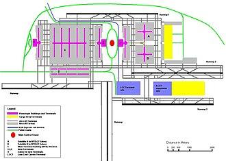 KLIA Transit - Image: KLIA masterplan