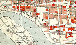 Map of the neighborhood (1898)