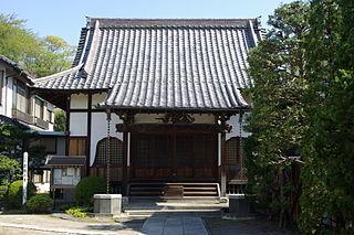 Buddhist temple in Chiba Prefecture, Japan