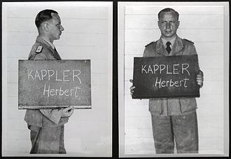 Herbert Kappler - Kappler in Italy on 9 May 1945