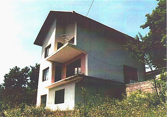 "Foča ethnic cleansing - ""Karaman's House"", a location where women were tortured and raped near Foča (Photograph provided courtesy of the ICTY)."
