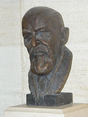 Karel Škorpil - Bust of Karel Škorpil in the Varna Archaeological Museum that he founded