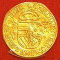 Karel V, Gelre, zonnekroon, 1544, Nijmegen.jpg