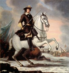 Karl XI, 1655-1697, king of Sweden