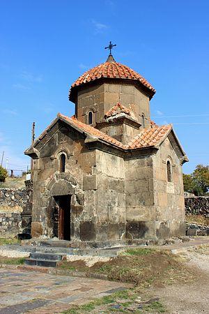 Karmravor Church - The church in October 2014