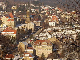 Sebnitz during winter