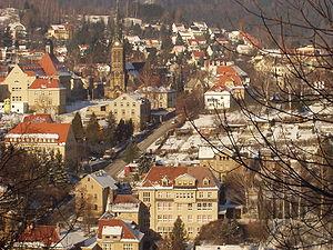 Sebnitz - Sebnitz during winter