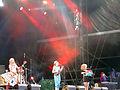 Katzenjammer performing at Hamburg 2011.jpg
