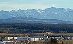 Kaufbeuren - Skihütte - Fliegerhorst, Auerberg, Zugspitze.jpg