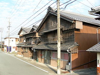 Tsumairi - Tsumairi style: the entrance is on the gabled side
