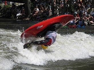 Playboating - Aerial Loop