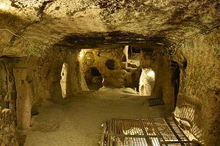 Kaymakli Underground City Archaeological site in Turkey