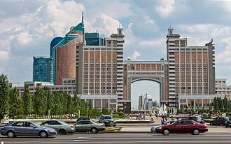 Astana - KazMunayGas headquarters