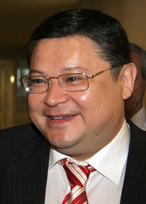 Marat Tazhin - Image: Kazakh FM Marat Tazhin
