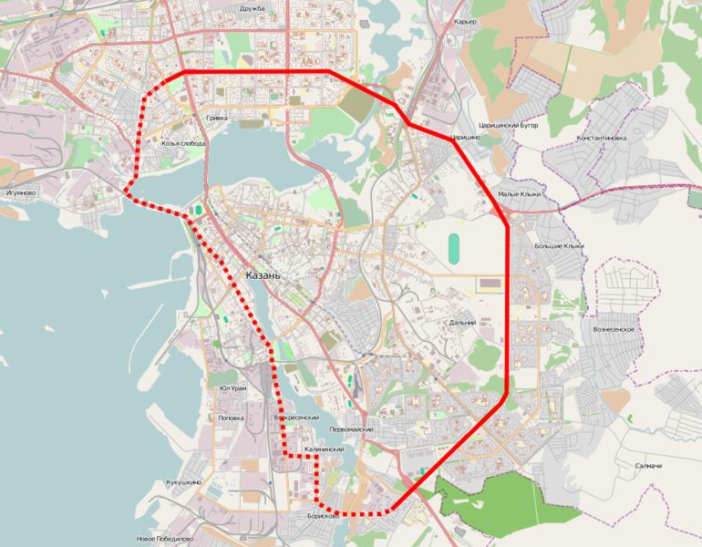 трамвайные маршруты и линии