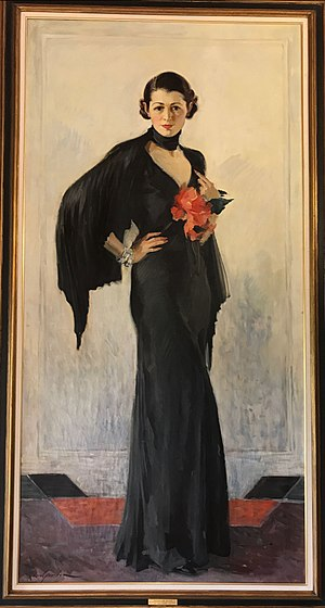 Katharine Brush - Katharine Brush: portrait by Leon Gordon, 1933