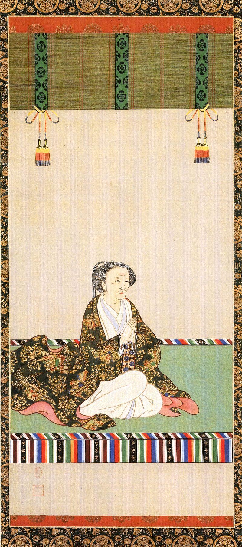 桂昌院(けいしょういん・1627~1705年)