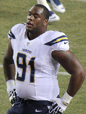 Kendall Reyes - Reyes with the San Diego Chargers in 2013
