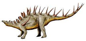 Kentrosaurus - Life restoration
