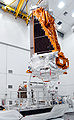 Kepler put with a crane to the third stage of its Delta II.jpg