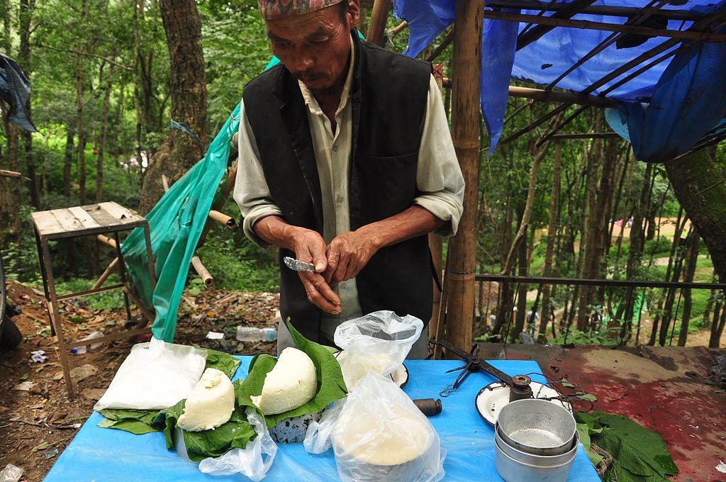 Khuwa vendor Nepal
