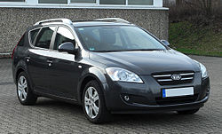 Kia cee'd SW przed face liftingiem