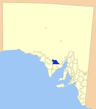 District Council of Kimba - Location of the District Council of Kimba