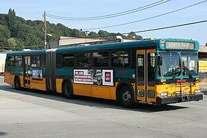 King County Metro fleet - Image: King County Metro Transit D60HF 2353