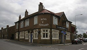 Guide, Lancashire - Image: King Edward VII Guide geograph.org.uk 476172