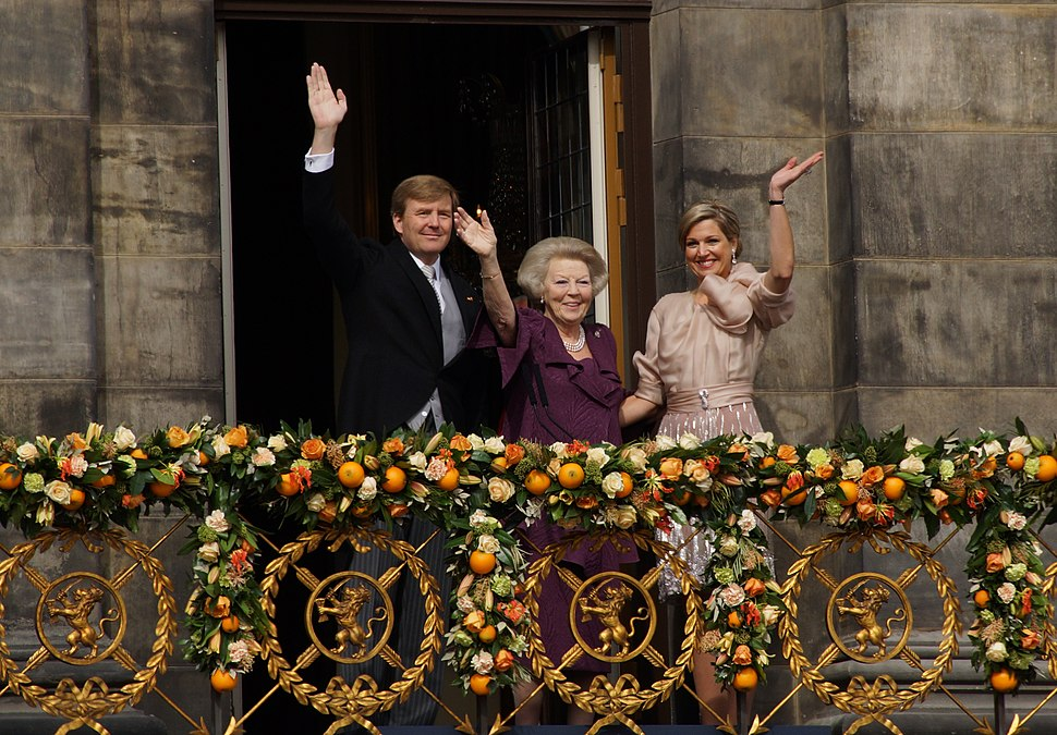 King Willem-Alexander, Princess Beatrix en Queen Maxima