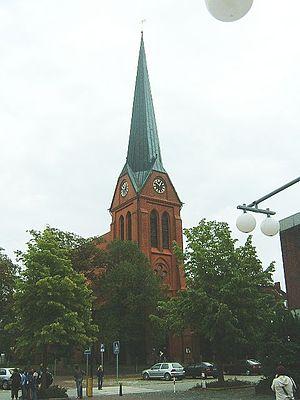 Schwarzenbek - Image: Kirche schwarzbek 12