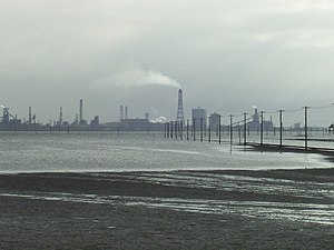 Japanese economic miracle - Steel plant of Nippon Steel Corporation in Chiba Prefecture – Japanese coal- and metal-related industry experienced an annual growth rate of 25% in the 1960s
