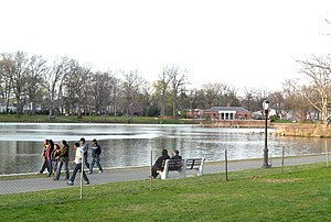 Kissena Park - Dusk at Kissena Park