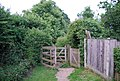 Kissing Gate on The Greensand Way, Shipbourne - geograph.org.uk - 1364074.jpg