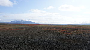 Highlands of Iceland - Desert dominates the central highlands, through which the Kjölur road winds its way