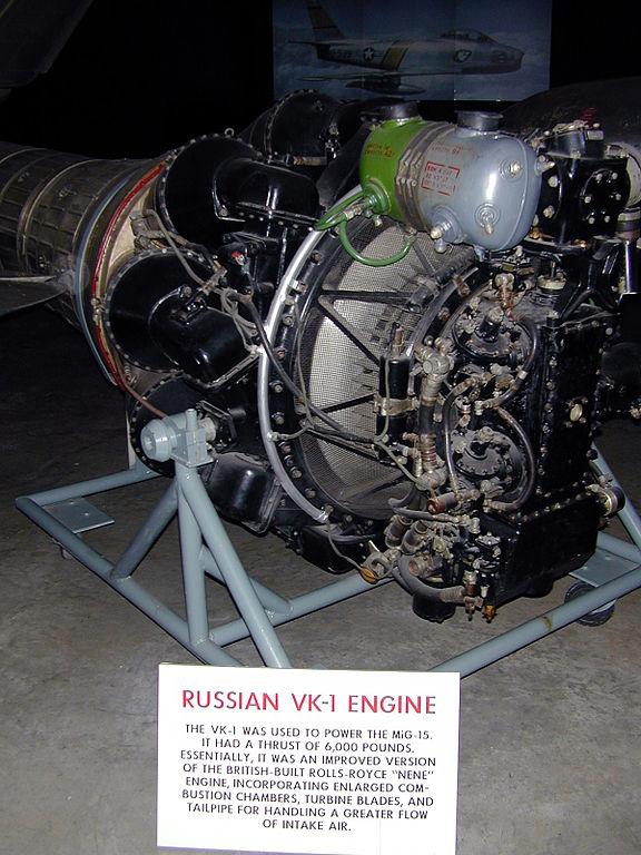Lavochkin - avioni konstruktora Lavočkina 576px-Klimov_VK-1_Engine